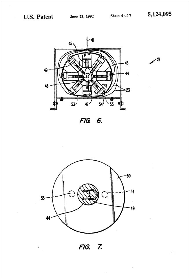 United States Patent 5,124,095 - Process of injection molding thermoplastic foams - Figures 6 and 7 by Michael H. Clement