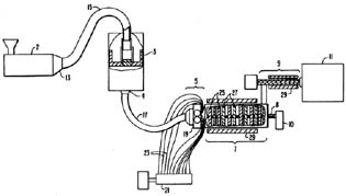 United States Patent 5,124,095 - Process of injection molding thermoplastic foams by Michael H. Clement